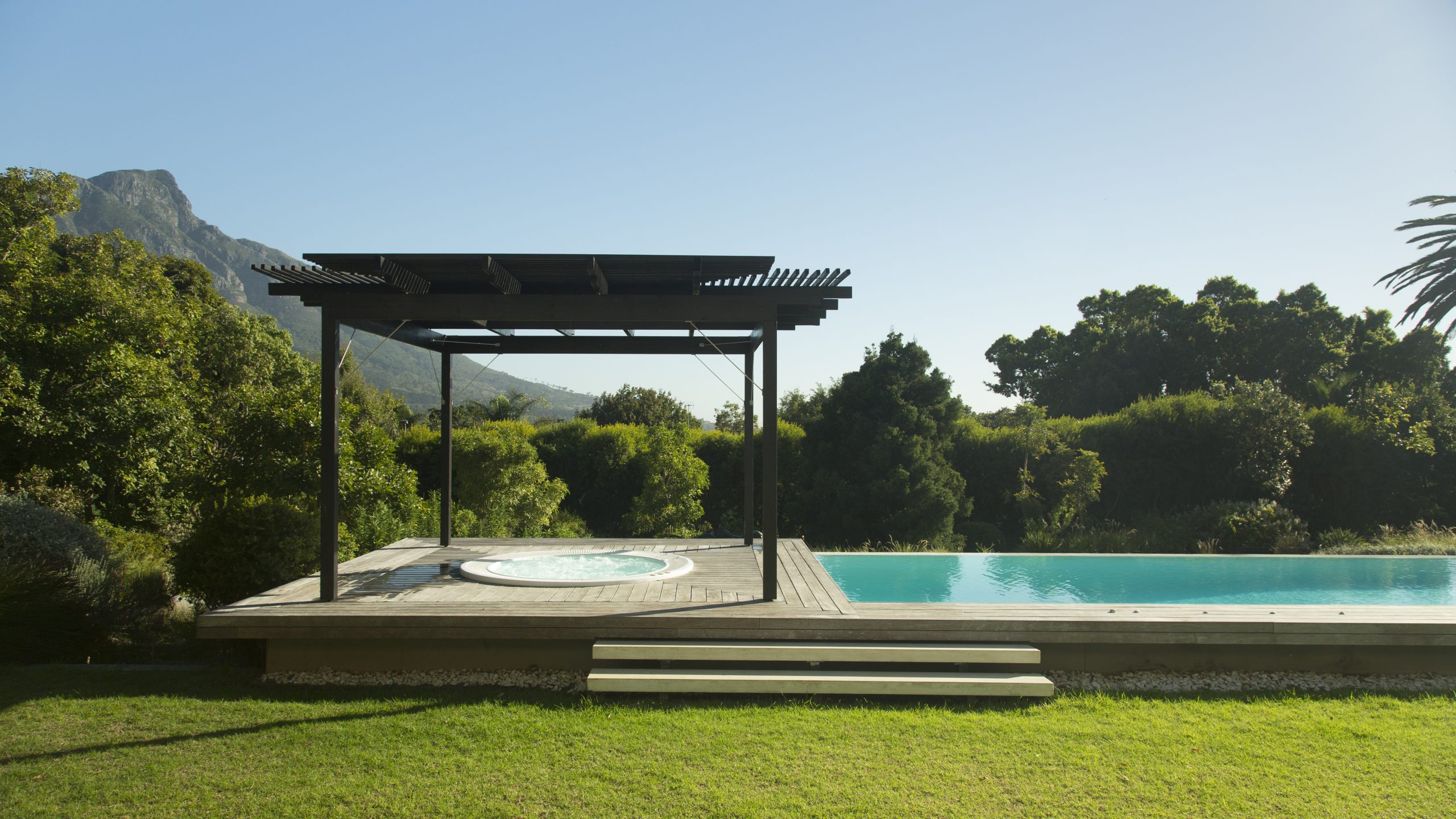 piscine prêt immobilier